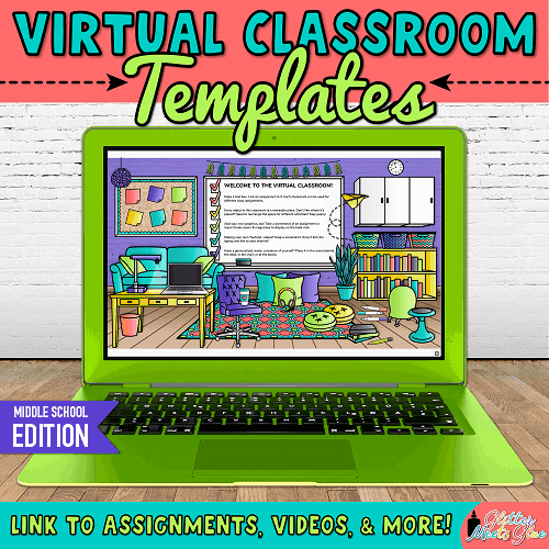 bitmoji virtual classroom template for teachers