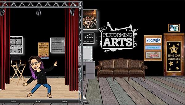 drama classroom on Google Slides