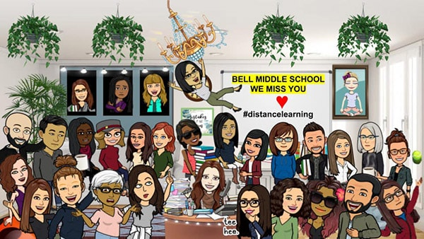 faculty bitmoji photo