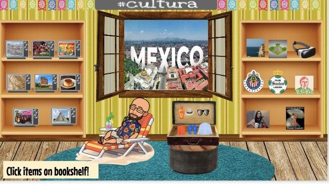 spanish virtual classroom bitmoji