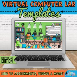 virtual classroom computer lab templates for teachers