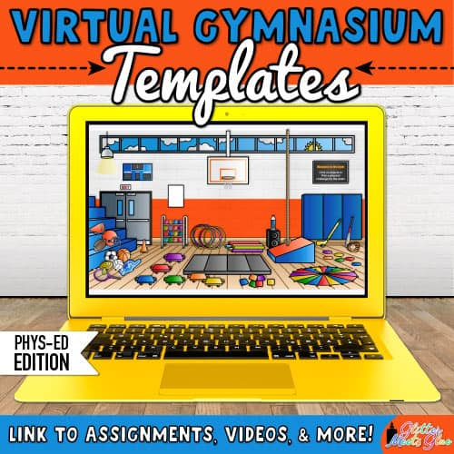 virtual gymnasium templates for physical education teachers