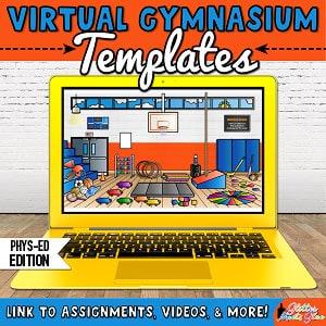 virtual gymnasium templates