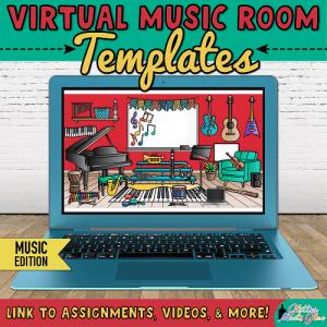 virtual music room templates for teachers