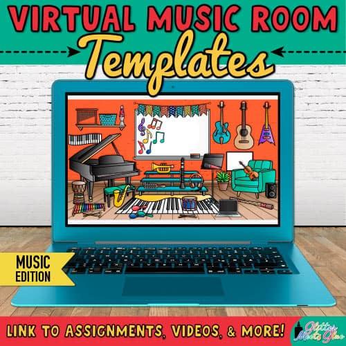 virtual music classroom bitmoji