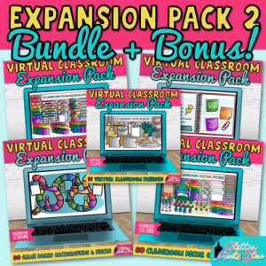 virtual classroom expansion pack bundle for teachers