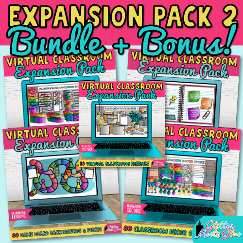 virtual classroom expansion pack bundle for teachers