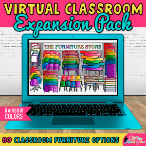 virtual classroom furniture templates