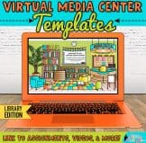 virtual library templates for media center specialists