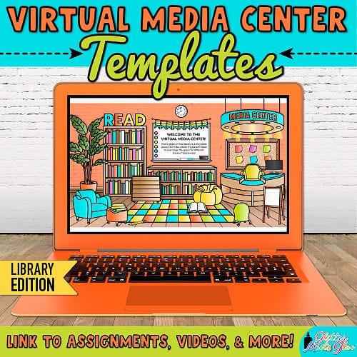 virtual media center templates for teachers