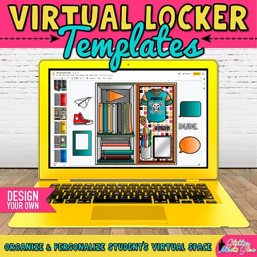 design your own digital school lockers project for back to school