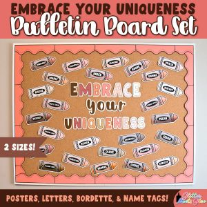 diversity bulletin board set for classroom decor during back to school