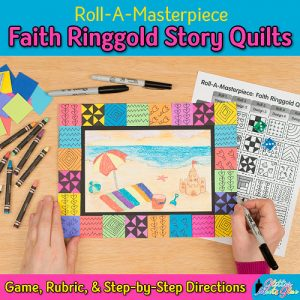 faith ringgold art game for kids