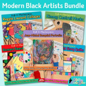 modern black artists game bundle for teachers