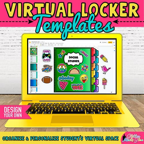 virtual classroom lockers for middle school students