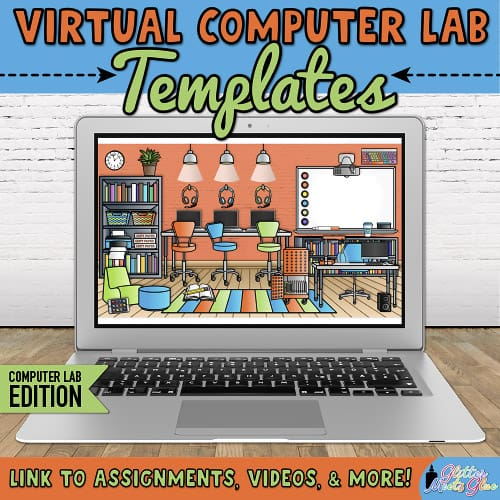 digital computer lab templates for teachers