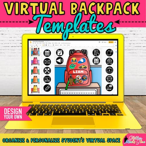 virtual backpack project for back to school