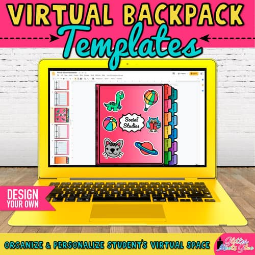 virtual backpack project for elementary students