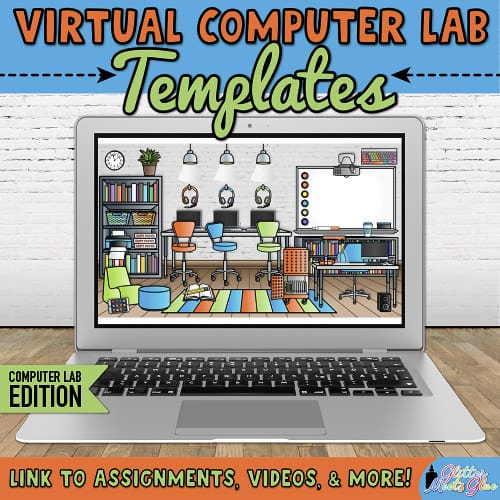 virtual classroom computers room for teachers