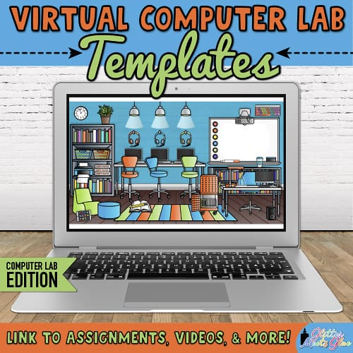 virtual technology room for computer teachers distance learning