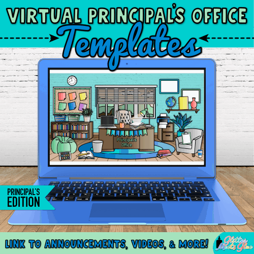 digital principals office google slides templates