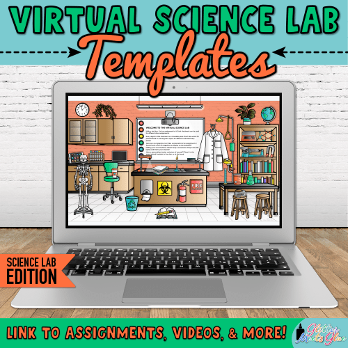 digital science room templates for chemistry teachers