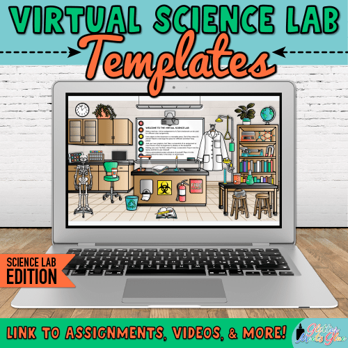 virtual chemistry classroom templates for science lessons