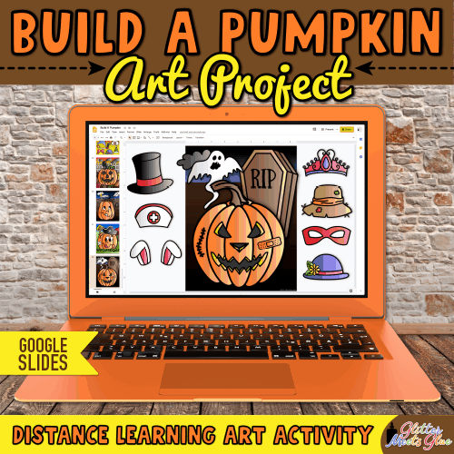 carve a digital pumpkin google slides activity for kids