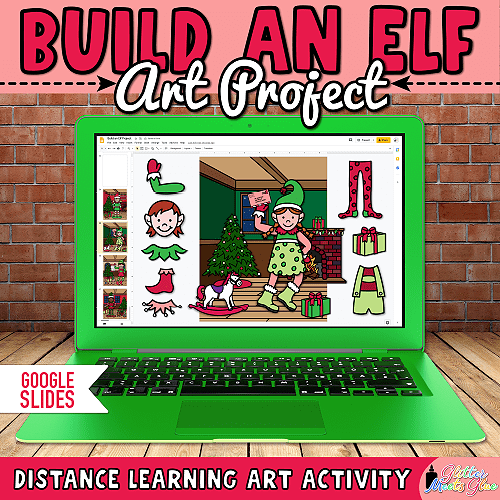 elf art projects for kids distance learning