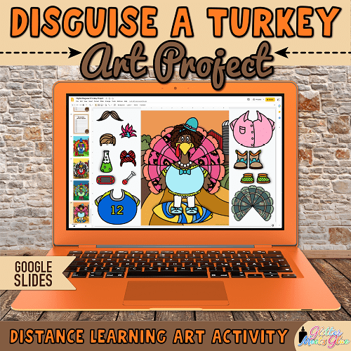 build a turkey project for distance learning