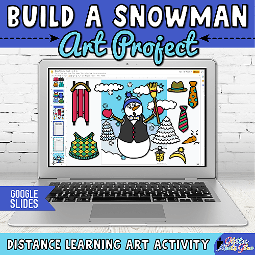 winter art projects for kids hybrid learning