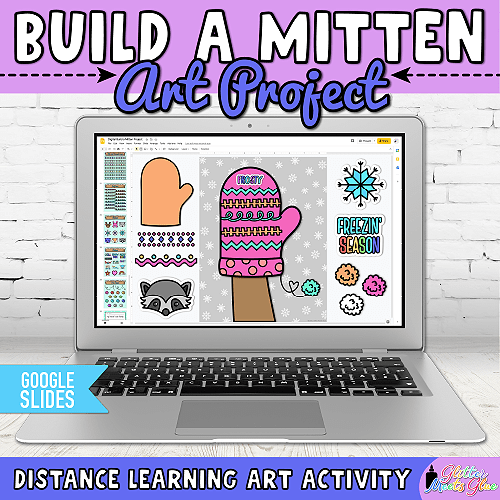 the mitten activities for kids remote learning