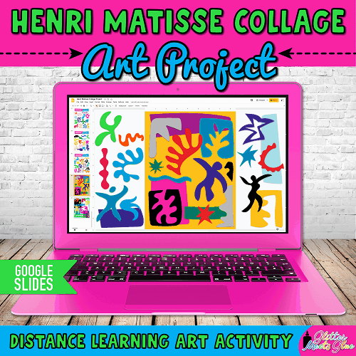 henri matisse art project for remote learning