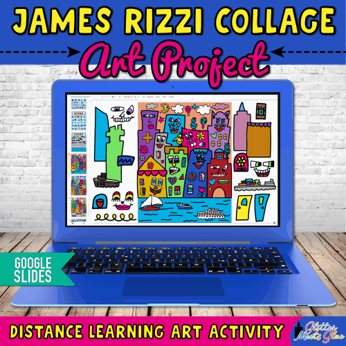 james rizzi art project for kids homeschooling