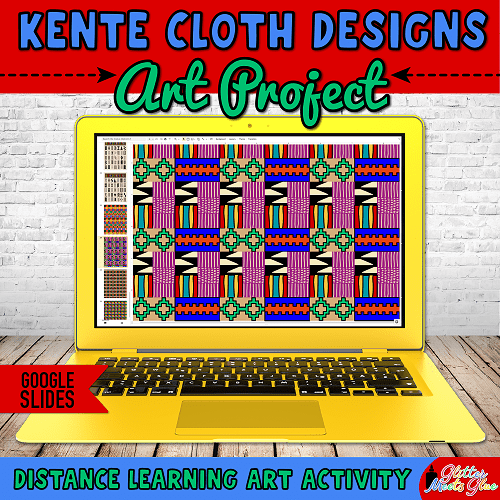 kente cloth art project for distance learning