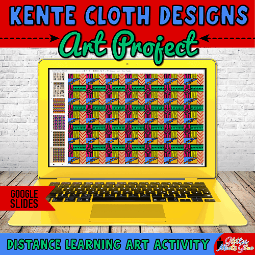 kente cloth designs for kids remote learning