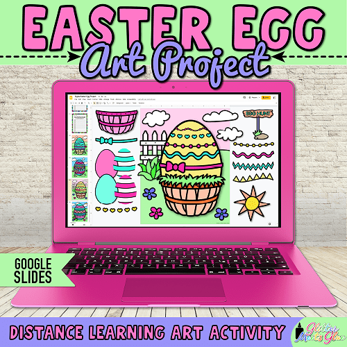 build an easter egg project for kids homeschooling
