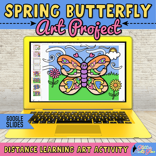 butterfly crafts for kids hybrid learning
