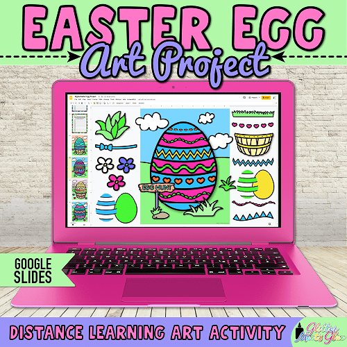 easter activities for kids remote learning at home