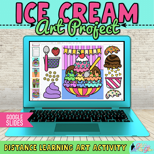 easy ice cream crafts for kids distance learning