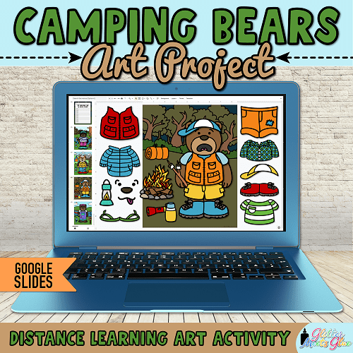 digital summer crafts for kids homeschooling