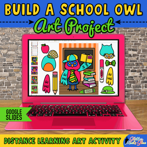 back to school owl in the classroom for kids
