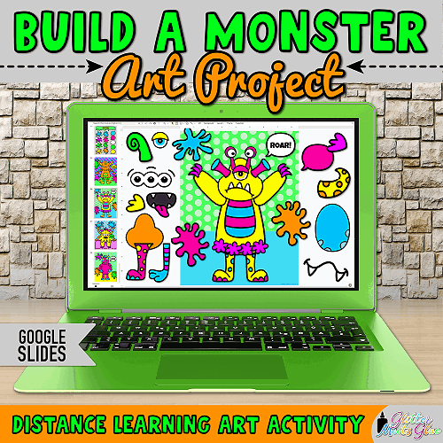 digital monster project for distance learning