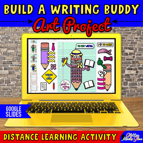 digital writing buddy project for 3rd grade