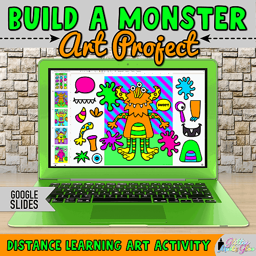 virtual monster project for blended learning